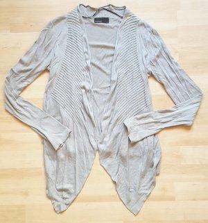hellgrauer asymmetrischer Cardigan von Vero Moda