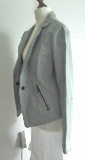 Maison Scotch Denim Blazer light grey cotton