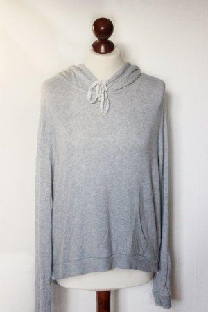 Hellgrauer Brandy Melville Pullover Hoodie Sweater One Size Blogger