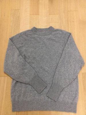 Hellgrauer Cashmere Pullover von H&M in Größe S