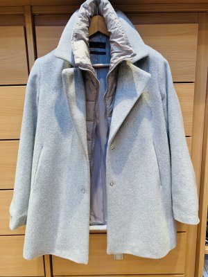 Cinque Short Coat light grey mixture fibre