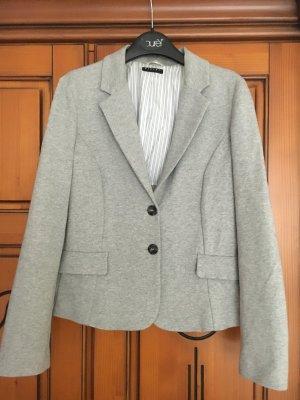 Hellgrauer Damen-Blazer Jersey talliert Gr. 38