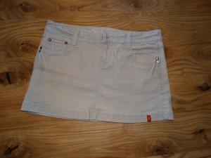 hellgrauer Jeans-Minirock von Esprit