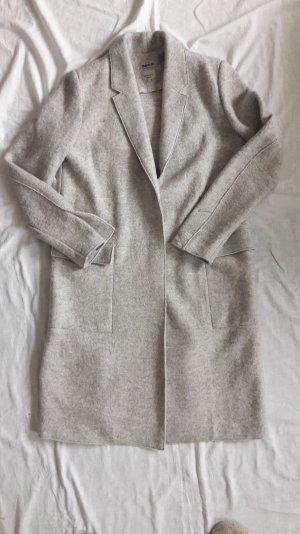 Hellgrauer Mantel aus Wolle 38 ZARA ♥