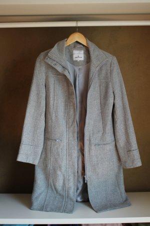 Hellgrauer Mantel von Tom Tailor