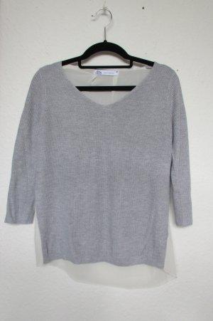 Hellgrauer Pullover von Ann Christine Knitwear