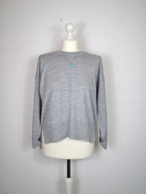 Asos Knitted Sweater light grey-grey