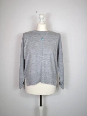 Asos Pull tricoté gris clair-gris