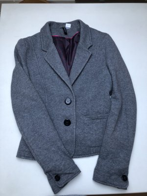H&M Divided Blazer sweat gris clair
