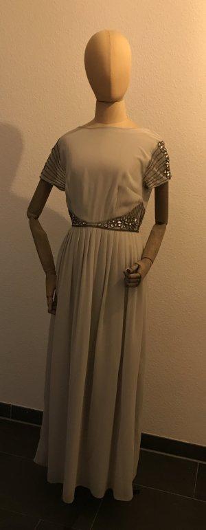 Hellgraues Abendkleid von Asos Petit