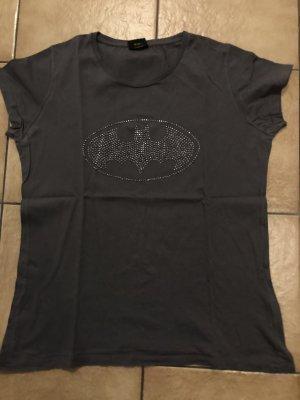 hellgraues / graues Shirt mit batmanzeichen / Batman von C&A - Gr. 44