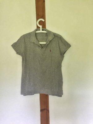 Hellgraues Poloshirt v. Polo Ralph Lauren
