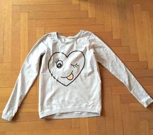 Hellgraues Sweatshirt