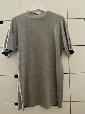 Zara T-shirt jurk lichtgrijs-grijs