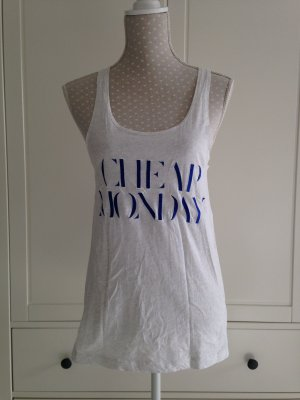 Hellgraues Top von Cheap Monday Gr XS