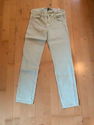 Hellgrüne Jeans Größe 34 ZARA