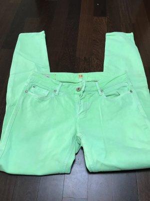 Hellgrüne Jeans von BOSS ORANGE Gr. 30/32