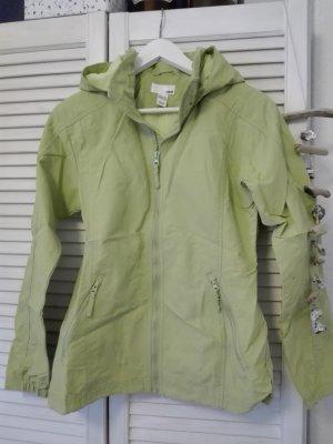 Hellgrüne Regenjacke mit Kapuze - Top Zustand!