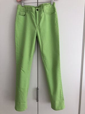 Lauren Jeans Co. Ralph Lauren Carrot Jeans lime-green cotton