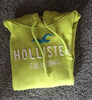 Hellgrüner Hollister Pullover