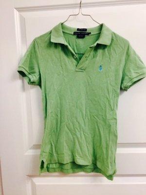 Hellgrünes Polo Ralph Lauren Shirt