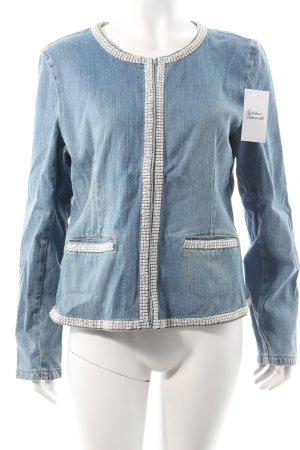 Helline Jeansjacke stahlblau Jeans-Optik