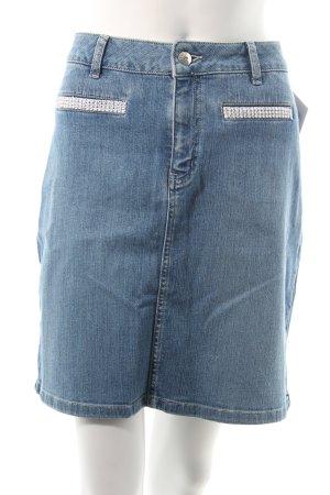 Helline Jeansrock stahlblau Jeans-Optik