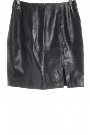 Helline Minifalda negro look casual