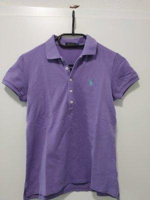 helllila Poloshirt Shirt T-Shirt Polo Ralph Lauren Größe 36 wie neu super Stretch