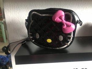 Hello kitty Bandolera negro-rosa