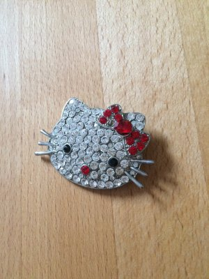 Hello Kitty Glitzer-Brosche