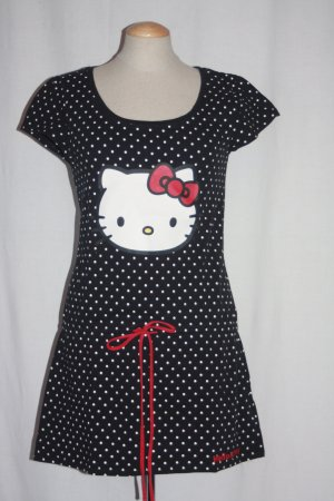 """Hello Kitty"" Nachthemd 36 Cotton Punkte Dots"