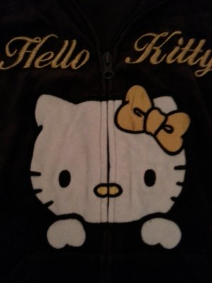 Hello Kitty Nickijacke Gr.L wNeu! braun H&M