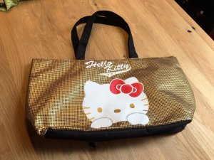 Hello Kitty Shopper Gold- Neu