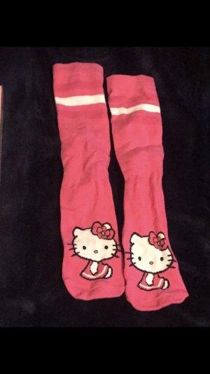 Hello Kitty Socken pink Einheitsgröße wie neu