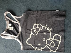 Hello kitty top grau H&M