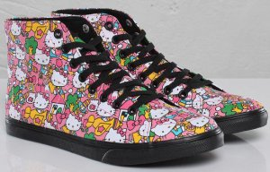 Hello Kitty Vans Authentic Lo Pro