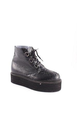 Hellohell Boots schwarz extravaganter Stil