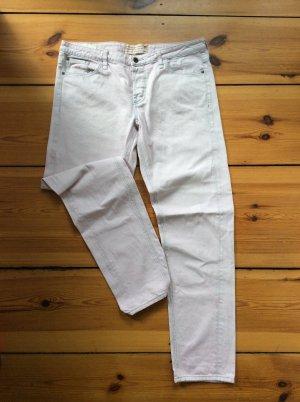 Hellrosa Baggy/Boyfriend-Jeans