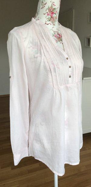 Zara Camicetta a blusa rosa chiaro