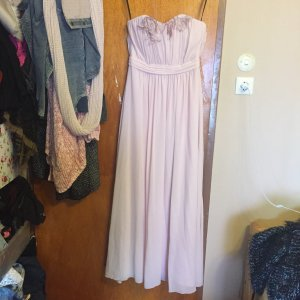 hellrosa farbiges langes Kleides von H&M