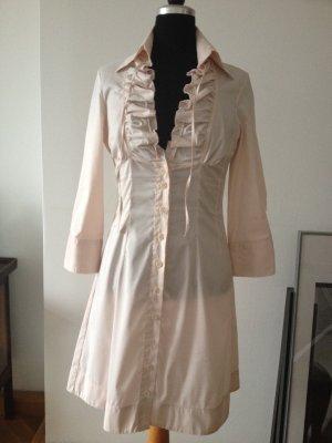 Hellrosa Hemdblusenkleid von PAOLA FRANI
