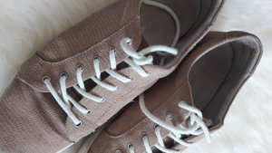 Hellrosa Ledersneaker 41 COX