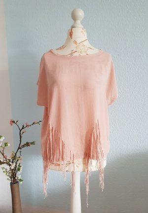 Zara Top extra-large rosé-rose clair