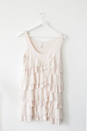 Hellrosa / Pastell Rüschenkleid / Longtop von H&M