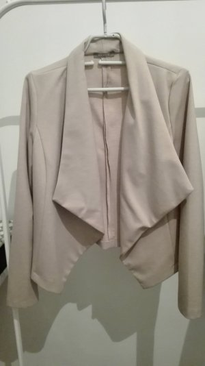 Hellrosa Sweat-Blazer
