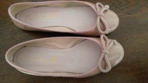 Hellrosafarbenen Ballerinas von Pretty Ballerina