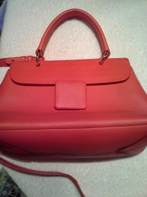 Jil Sander Carry Bag red