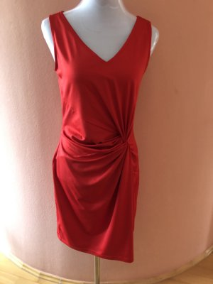 3 Suisses Cocktail Dress red polyester
