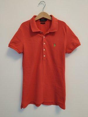 hellrotes Poloshirt Shirt T-Shirt Polo Ralph Lauren Größe 36 s #wie neu#passgenau#super Stretch#